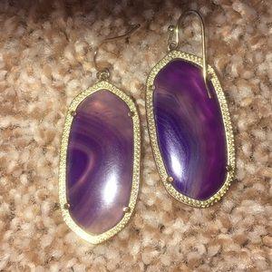 Kendra Scott Jewelry - ‼️RARE‼️Kendra Scott Elle Earrings